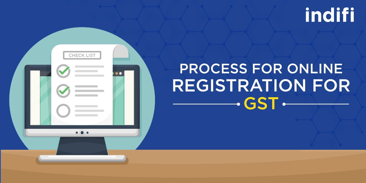 Process For Online Registration For GST